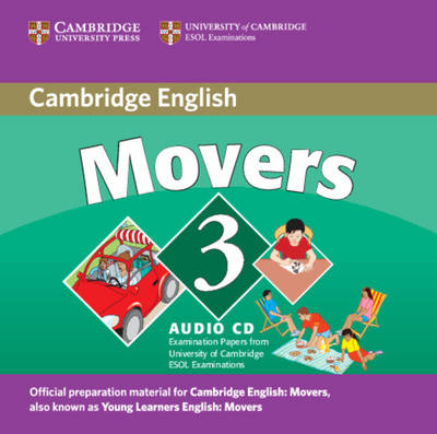 Cambridge Young Learners English Tests Movers 3 Audio CD book