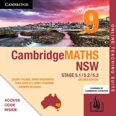 Cambridge Maths Stage 5 NSW Year 9 5.1/5.2/5.3 Online Teaching Suite (Card) by Stuart Palmer