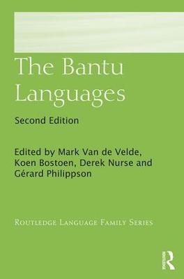 The Bantu Languages book
