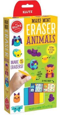 MAKE MINI ERASER ANIMALS by Klutz