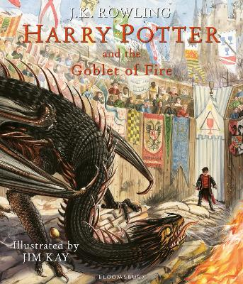 Harry Potter and the Goblet of Fire Illustrated Edition by J.K. Rowling
