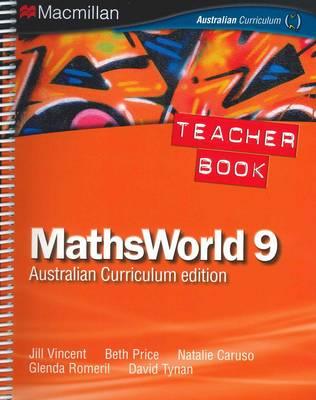 Mathsworld 9 Australian Curriculum Edition Teacher Resource Book by Jill Vincent