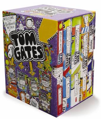 The Welcome to the Brilliant World of Tom Gates Boxed Set by Liz Pichon