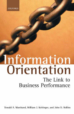 Information Orientation by Donald A. Marchand