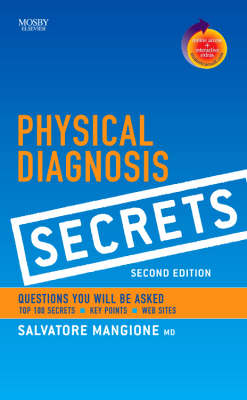 Physical Diagnosis Secrets by Salvatore Mangione