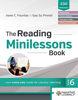 The Reading Minilessons Book, Grade 6 book