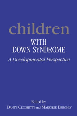 Children with Down Syndrome by Dante Cicchetti
