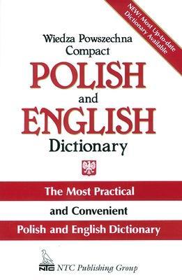 Wiedza Powszechna Compact Polish and English Dictionary by Janina Jaslan