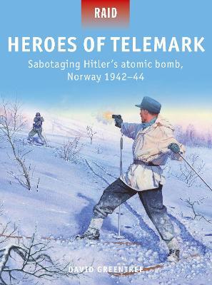 Heroes of Telemark: Sabotaging Hitler's atomic bomb, Norway 1942-44 by David Greentree