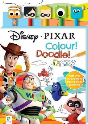 Disney Pixar 5-Pencil and Eraser Set by