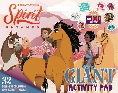 Spirit Untamed: Giant Activity Pad (Dreamworks) book