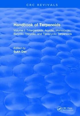 Handbook of Terpenoids by Sukh Dev