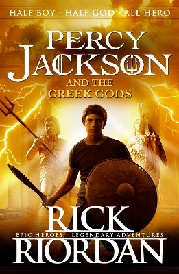 Percy Jackson and the Greek Gods book