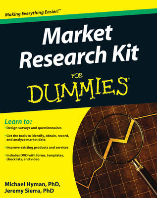 Marketing Research Kit For Dummies by Michael Hyman