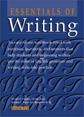 Essentials of Writing book