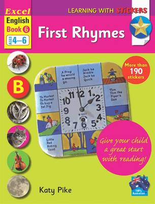 Excel English Book 6 - First Rhymes by Katy Pike