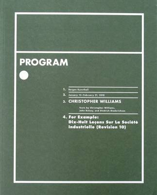 Program by Christopher Williams