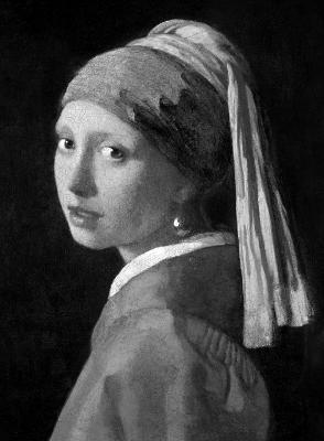 Vermeer by Ludwig Goldscheider
