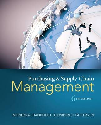 Purchasing and Supply Chain Management by Robert Monczka