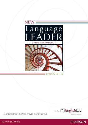 New Language Leader Upper Intermediate Coursebook for MyEnglishLab Pack by David Cotton