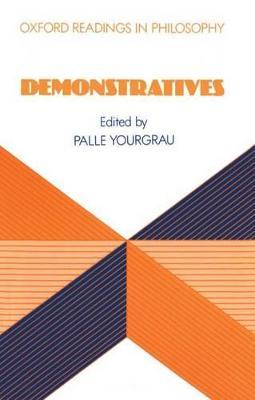 Demonstratives book