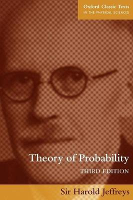 Theory of Probability by Sir Harold Jeffreys