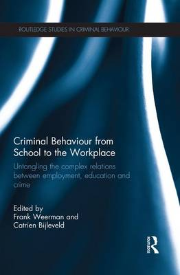 Criminal Behaviour from School to the Workplace book