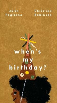 When's My Birthday? book
