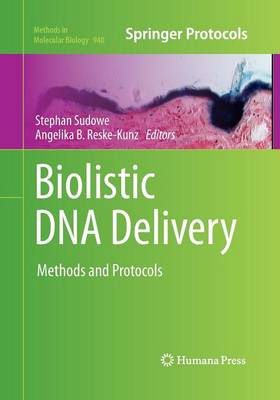 Biolistic DNA Delivery by Stephan Sudowe
