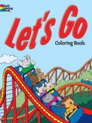 Let's Go Coloring Book book