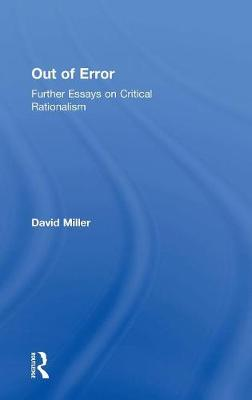 Out of Error by David Miller