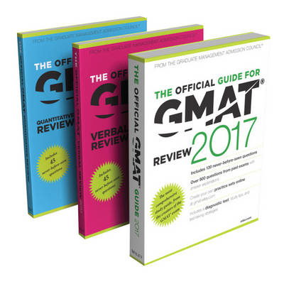 The Official Guide to the GMAT Review 2017 Bundle + Question Bank + Video by Graduate Management Admission Council (GMAC)