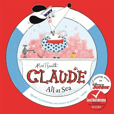 Claude All at Sea by Alex T. Smith