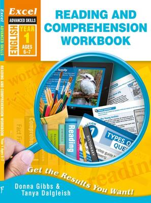 Excel Advanced Skills - Reading and Comprehension Workbook Year 1 by Donna Gibbs