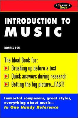 Schaum's Outline of Introduction To Music book