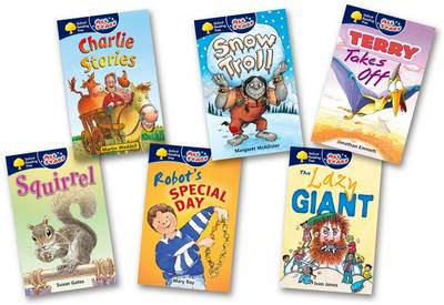 Oxford Reading Tree: All Stars: Pack 1A: Pack (6 Books, 1 of Each Title) by Jonathan Emmett
