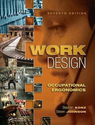 Work Design: Occupational Ergonomics book