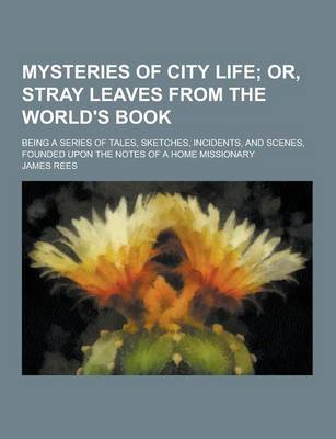 Mysteries of City Life; Being a Series of Tales, Sketches, Incidents, and Scenes, Founded Upon the Notes of a Home Missionary by James Rees