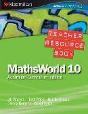MathsWorld 10 Australian Curriculum Edition - Teacher Resource Book by Jill Vincent