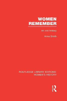 Women Remember by Anne Smith
