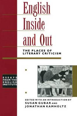 English Inside and Out by Susan Kamholtz Gubar