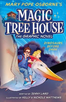 Dinosaurs Before Dark Graphic Novel by Mary Pope Osborne