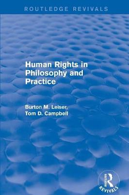 Revival: Human Rights in Philosophy and Practice (2001) book