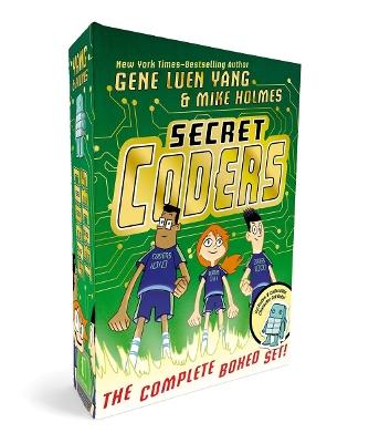 Secret Coders: The Complete Boxed Set: (Secret Coders, Paths & Portals, Secrets & Sequences, Robots & Repeats, Potions & Parameters, Monsters & Modules) by Gene Luen Yang
