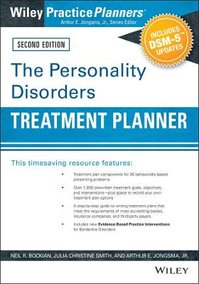 The Personality Disorders Treatment Planner, Second Edition by Neil R. Bockian