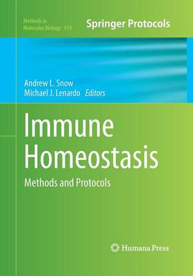 Immune Homeostasis by Andrew L. Snow