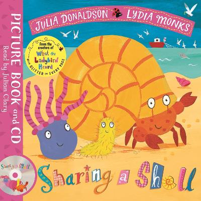Sharing a Shell: Book and CD Pack by Julia Donaldson