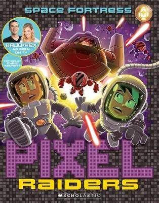 Pixel Raiders #4: Space Fortress by Bajo & Hex
