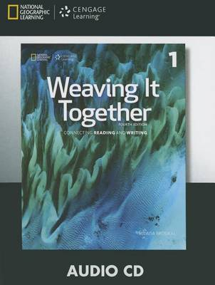 Weaving It Together 1 Audio CD (4th ed) by Milada Broukal