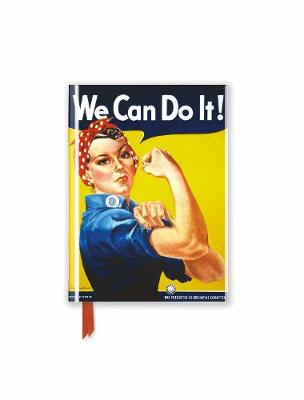 We Can Do it! Poster (Foiled Pocket Journal) by Flame Tree Studio
